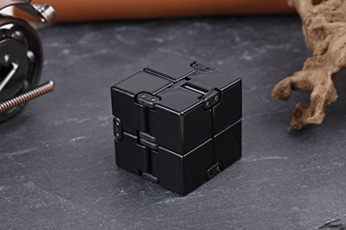 open up to love Infinity Cube Fidget Toy Hand Killing Time Prime Infinite Cube for ADD, ADHD, Anxiety, and Autism Adult and Children