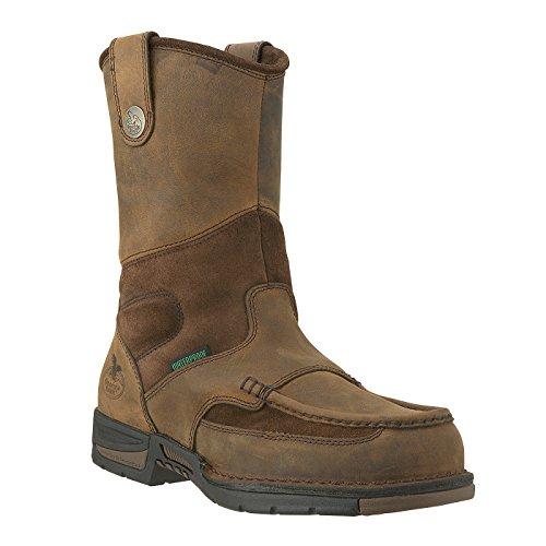 Georiga Mens 8 Moc-toe Impermeabile Wellington Lavoro Boot-g4403
