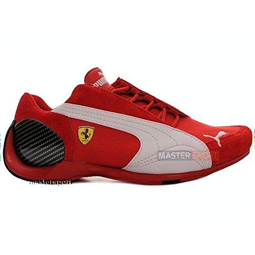 9ba06fee184 Puma - SF Trionfo LO II Ferrari - 30098001 - Color  Blanco-Rojo - Size   37.5  Amazon.es  Zapatos y complementos