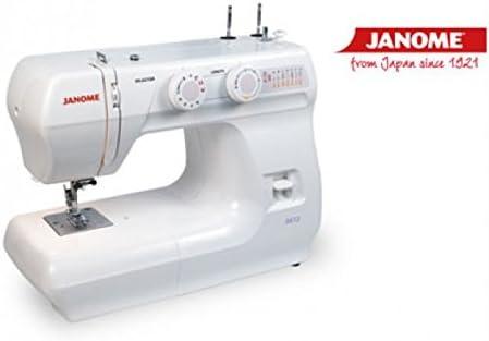 Maquina de coser Janome 3612: Amazon.es: Hogar