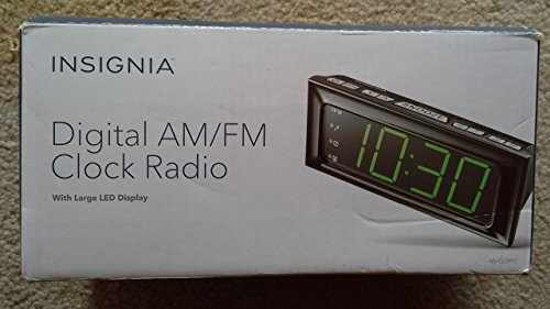 (Insignia NS-CLOPP2 Digital AM/FM Dual-Alarm)