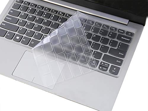 Clear Keyboard Cover Protective Skin Compatible Lenovo Yoga 720 15 15.6 inch, Lenovo Flex 5 15.6 inch, Lenovo Flex 5 14 inch Laptop (Not Fit Flex 6 14' or Yoga 730 15' or Flex 4 14' or Other Models)