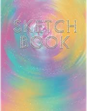 "Sketch Book: Blank Sketchbook for Doodling, Sketching, Drawing, Painting, Illustrating, 100 Pages, 8.5"" x 11"" (Version 1) - Paperback"