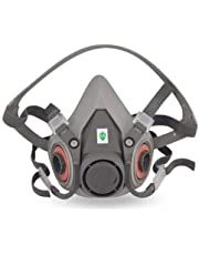 Gas Masks 7 Sets of Masks Industrial For Chemical Spraying Special Enclosures Head-wear-type