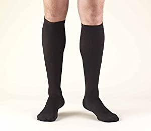 Truform Firm Compression Calf Length Dress Sock