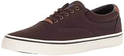 Polo Ralph Lauren Thorton II Sneaker, Men's Men Shoes, Brown (Mohican Brown), 8.5 UK (42 EU)