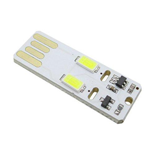 Amazon.com: GUWANJI Mini USB port aacute;til de luz cantidad de fuente de alimentaci oacute;n m oacute;vil luces led con ultra peque ntilde;o t aacute;ctil ...