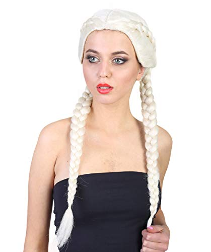 Celebrity Boxer Braid Wig, Blonde Adult HW-1383]()