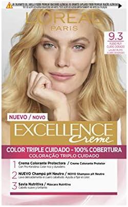 LOréal Paris Excellence Creme Tinte Tono 9.3 Rubio Claro ...