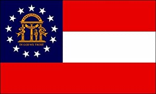 product image for Valley Forge Georgia Flag 2ft x 3ft Nylon - Outdoor
