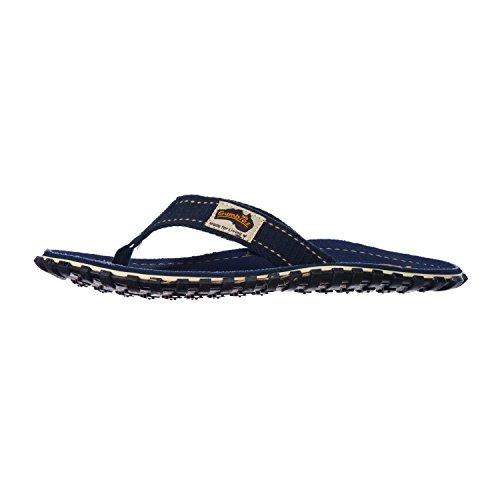 Gumbies, Ciabatte da spiaggia uomo, Blu (Blu), 44