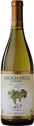 Grgich Hills 40th Anniversary Chardonnay, Napa Valley 750 mL Wine (Grgich Hill Chardonnay)
