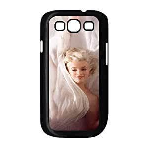 Tyquin Marilyn Monroe Samsung Galaxy S3 Cases Marilyn Monroe Bed for Guys Design, Samsung Galaxy S3 Cases for Women for Guys Design [Black]