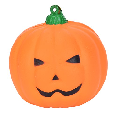CosCosX 1 Pcs Squishy Bread Halloween Pumpkin Slow Rising Squeeze Doll Charms Toy for Children ()