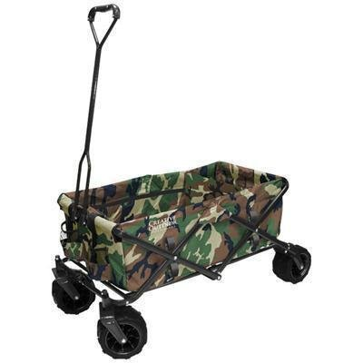 Buy cheap creative outdoor distributor 900248 all terrain folding wagon camo divider included