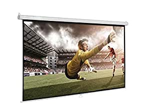 Manual Projection Screen , View area size 150 by 150 cm