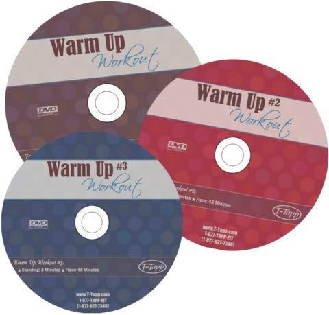 T-Tapp Warm Up Workout Bundle