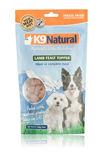 K9 Natural Freeze Dried Topper Lamb 5oz For Sale