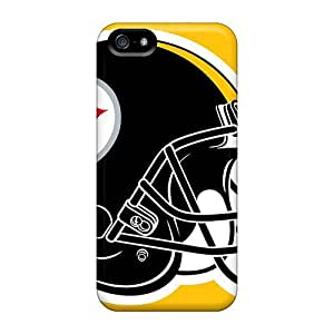New Tpu Hard Case Premium Iphone 5/5s Skin Case Cover(pittsburgh Steelers)