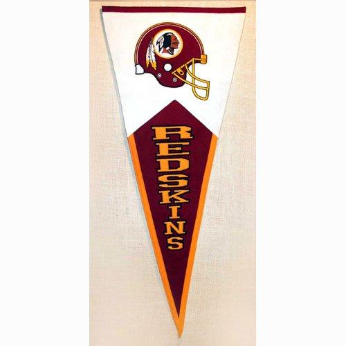 NFL Classic Pennant Banner Type: Washington Redskins