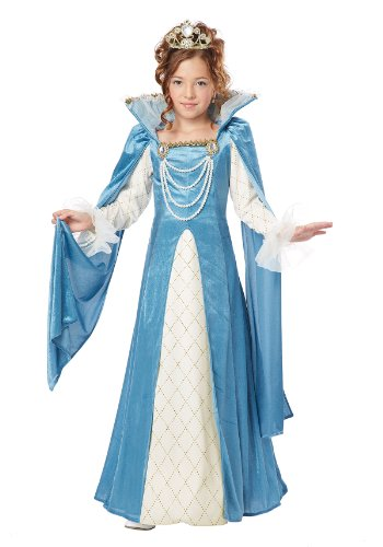 California Costumes Renaissance Queen Child Costume, Large -