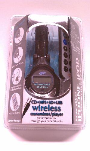 Wholesale Ipod Fm Transmitters (Wireless Gear USB Wireless Transmitter w/ Remote IM513)