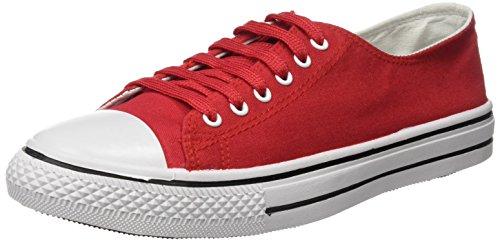 Kripton West Baja, Zapatillas de Deporte Unisex Adulto Varios Colores (Rojo)