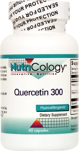 NutriCology Quercetin 300 -- 60 Capsules - 2PC by Nutricology