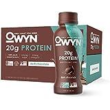 OWYN, Vegan Protein Shake, Dark Chocolate,12 Fl Oz (Pack of 12), 100-Percent Plant-Based, Dairy-Free, Gluten-Free, Soy-Free, Tree Nut-Free, Egg-Free, Allergy-Free, Vegetarian, Kosher