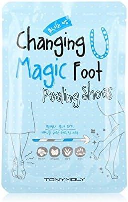 TONYMOLY [Tonymoly] Changing U Magic Foot Peeling Shoes 3Ea: Amazon.es: Salud y cuidado personal