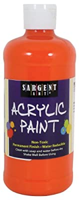 Sargent Art Inc. 16oz Acrylic Paint - Orange