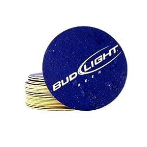 Huge Pack Of 100 Bud Light Coasters