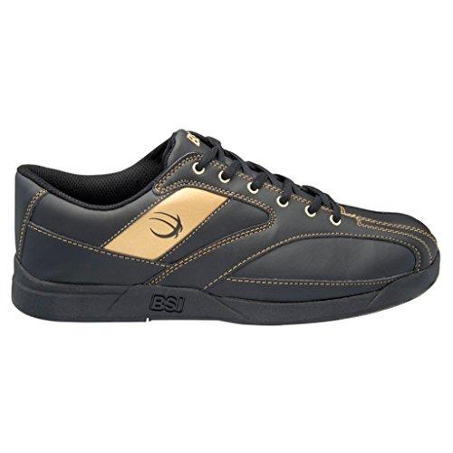 Zapatos De Bolos Bsi Hombres 571 (11 1/2 M De Ee. Uu., Negro / Dorado)