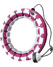 Smart hula hoop fitnessring, kroppsformande ring viktminskningsring, sportring kan masseras runt 360 °, omkrets och vikt kan justeras