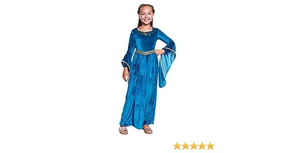 Disfraz Princesa Vikinga Niña (5-6 años) (+ Tallas) Carnaval ...