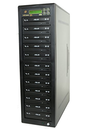 Stand Copier Copystar (DVD duplicator Sata 24X Asus dvd burner CD DVD Copier Copystars duplication tower 1 to 11)