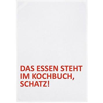 separation shoes e04ef 09c66 17;30 made in Hamburg Geschirrtuch Weiss mit SpruchDas Essen ...