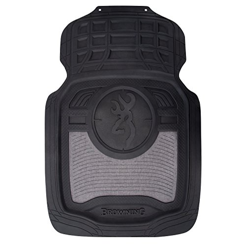 Browning Floor Mats | Front | Heather Black | 2 - Heather Front