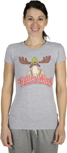 Ripple National Lampoon - Walley World Logo Juniors T-Shi...