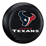 Fremont Die NFL Houston Texans Unisex Tire Coverhouston Texans Tire Cover Black, Standard Size