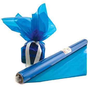 Amazon Com Cello Wrap Roll Blue Case Of 8 Everything Else