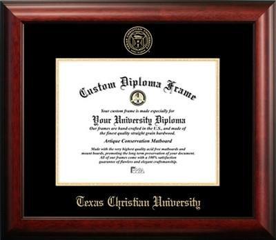 Texas Christian University Graduation Diploma Frame by Diploma Frame Deals