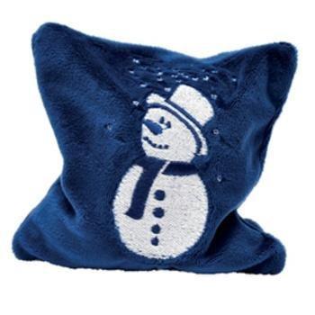 Bavarian Pillow Cat Toy - Snowman