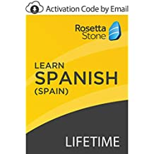 Rosetta Stone: Learn Spanish (Spain) with Lifetime Access on iOS, Android, PC, and Mac [Activation Code by Email]
