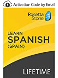 Rosetta Stone: Learn Spanish (Spain) with Lifetime Access on iOS, Android, PC, and Mac - mobile & online access [PC/Mac Online Code]