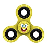 FOCO Diztracto Spinnerz Three Way Fidget Toy-Spongebob Spinner Toy, Yellow, 3