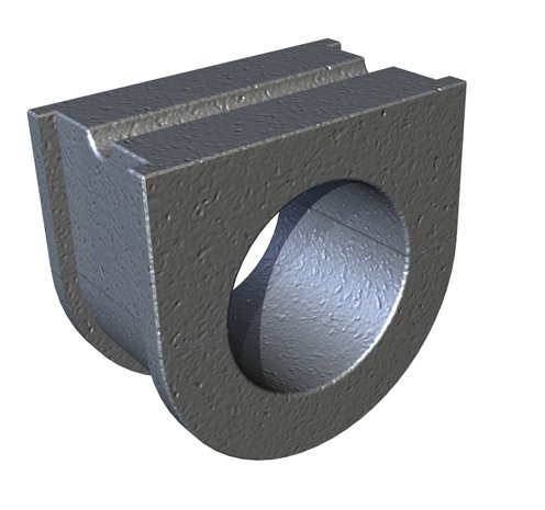 KWS Manufacturing HGB216112W - Hanger Bearing - Thickness: 1-15/16 in by KWS Manufacturing