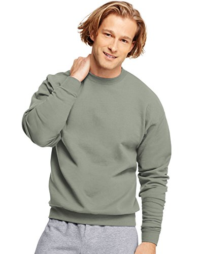 Jumper Heather - Hanes ComfortBlend EcoSmart Crew Sweatshirt, Charcoal Heather, 3XL