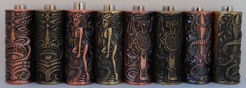 """1TattooWorld 8pcs 25mm(1"""") Empaistic Copper Tattoo Grip w/ Stem for Tattoo Machine & Needles, OTW-ZAL-S4"""