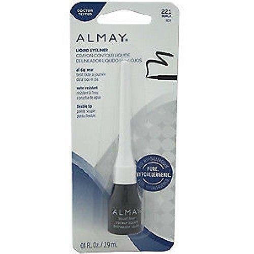 Almay Liquid Eyeliner, Black [221] 0.1 (0.1 Liquid)